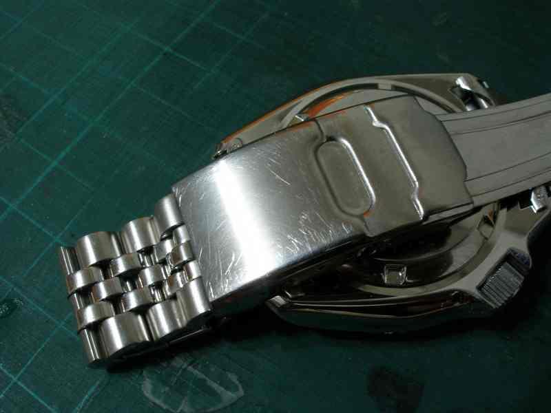 Reparar arañazos reloj