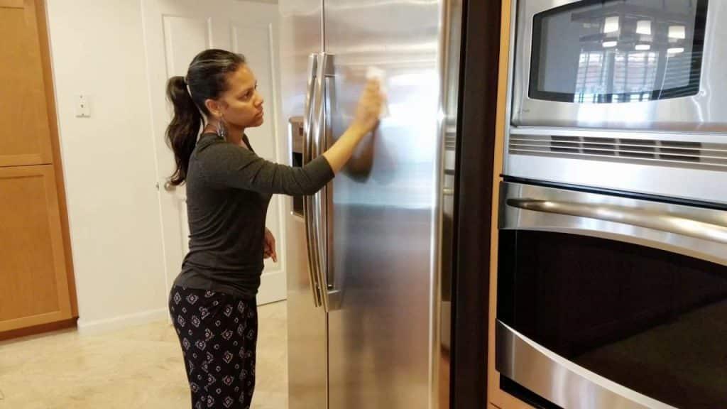 Técnica para quitar arañazos frigorifico acero inoxidable