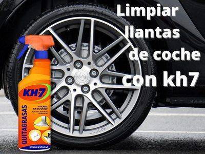 Limpiar llantas kh7