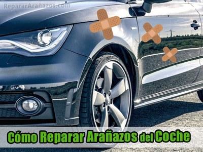Como reparar arañazos de coche rayón carrocería vehículo carro