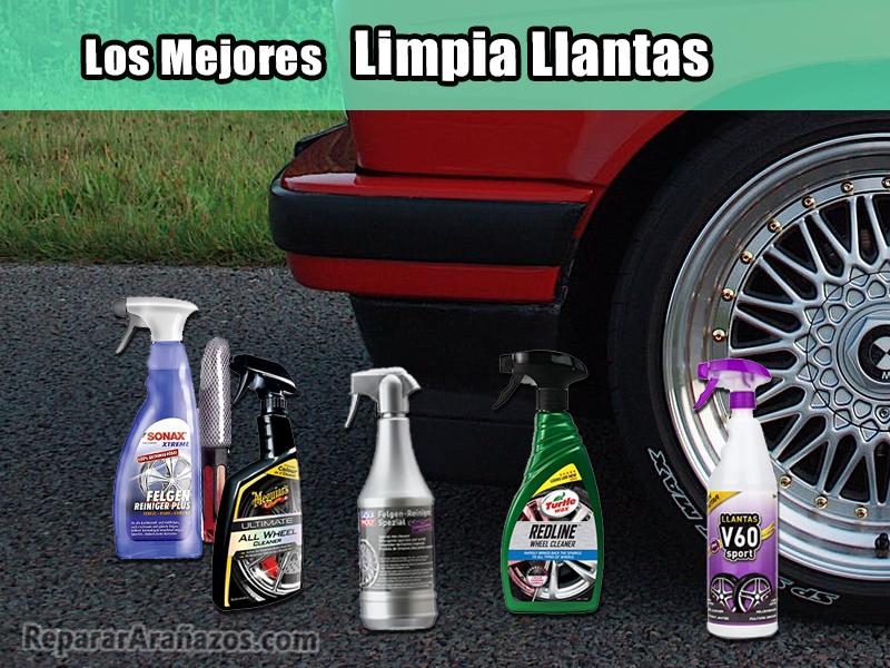 comparativa de limpia llantas productos limpieza coche